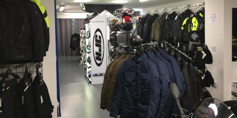 Сhelsea motorcycle clothing and accessories store