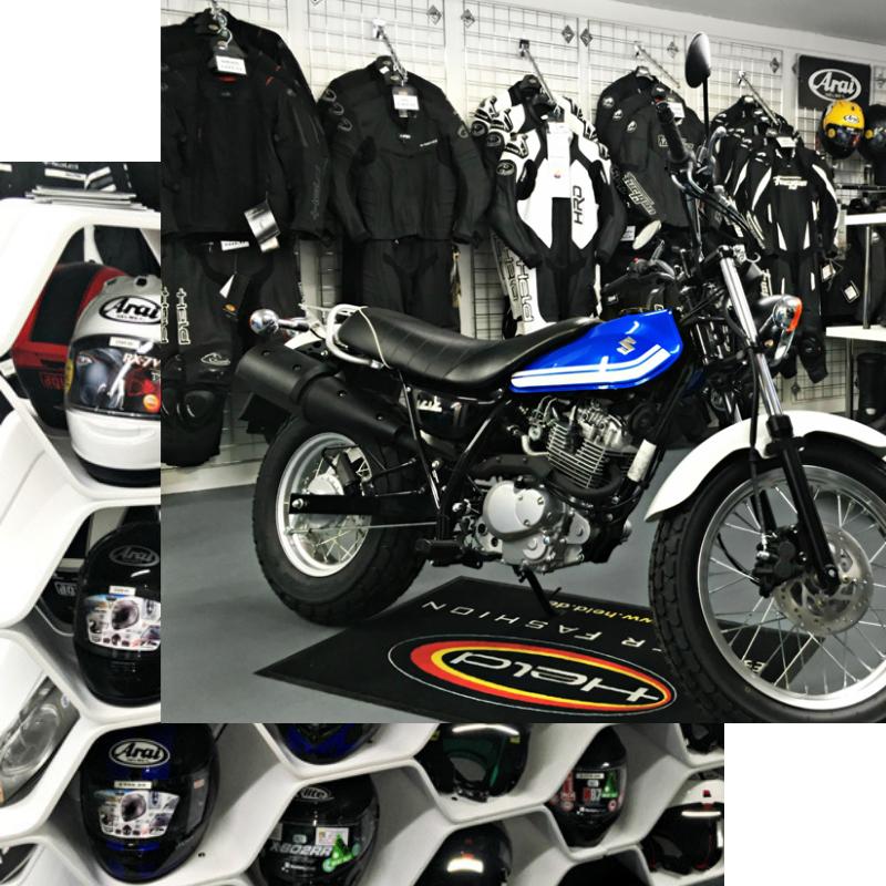 CMG Chelsea Motorcycle clothing store - motorbike shop
