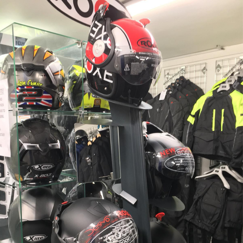 Motorcycle clothing store London