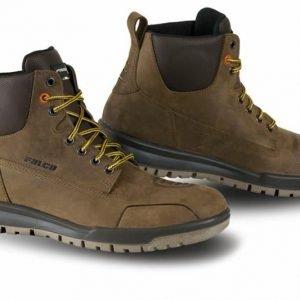 Falco Patrol Boots - Dark Brown colour