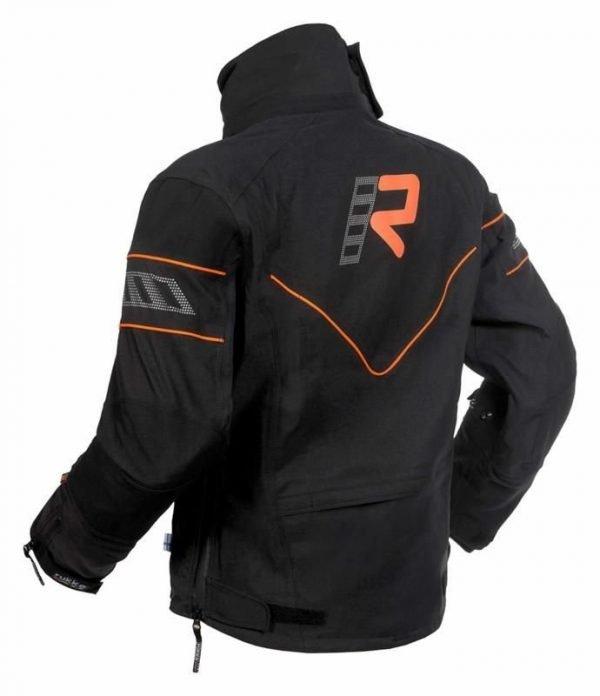 Rukka Nivala Jacket - Black/Orange colour, MCS, UK