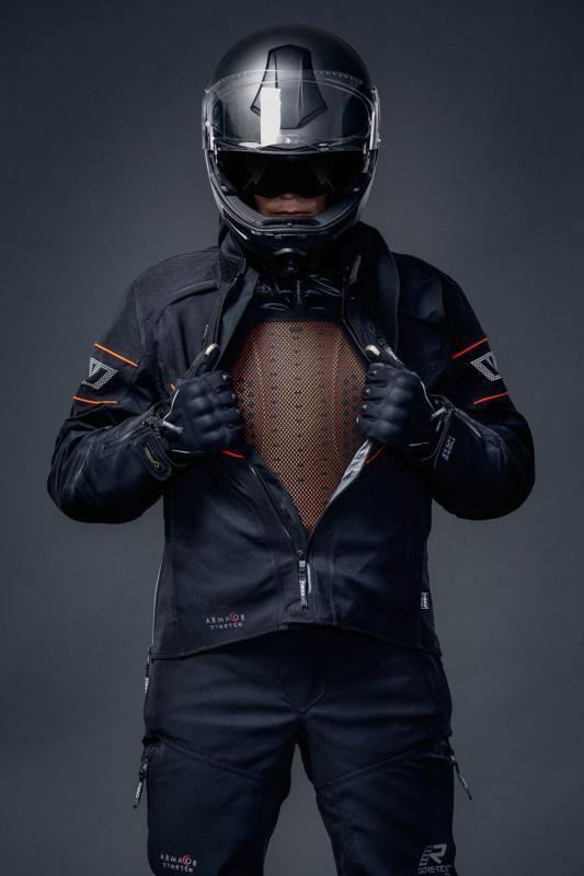 Rukka Nivala Jacket - Black/Orange colour, London