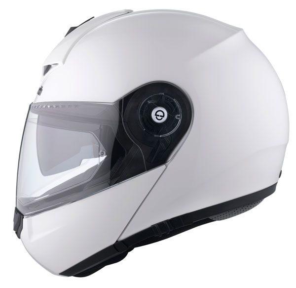 Schuberth C3 Pro Helmet - Gloss White colour