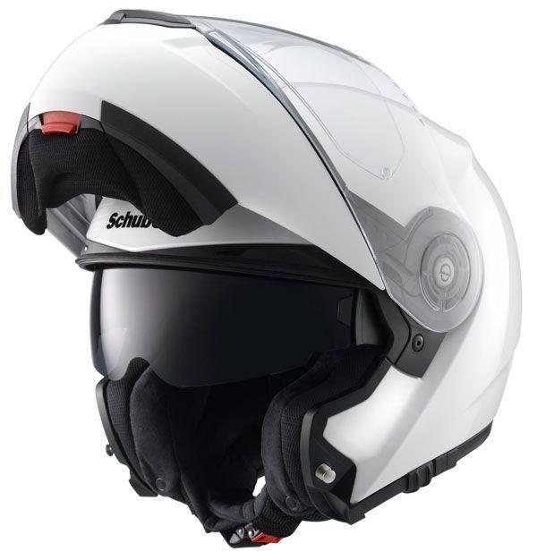 Schuberth C3 Pro Helmet - Gloss White colour, CMG, UK
