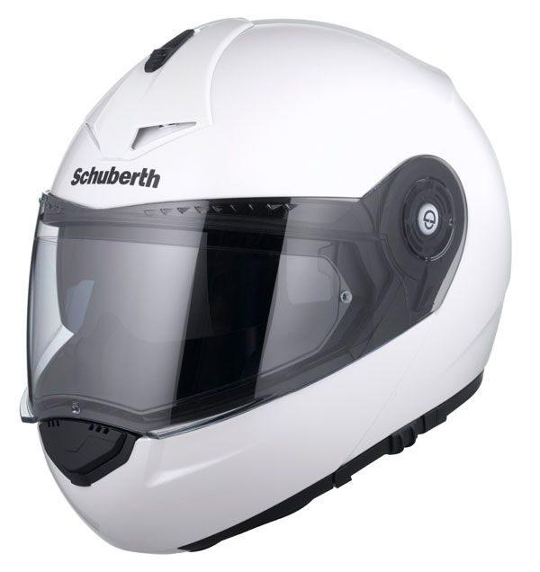 Schuberth C3 Pro Helmet Gloss White