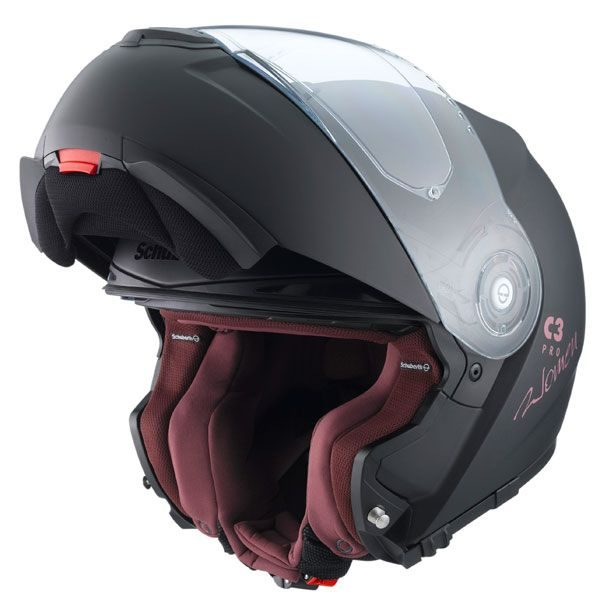 Schuberth C3 Pro Mens Helmet - Matt Black colour, UK