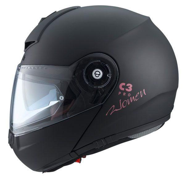 Schuberth C3 Pro Mens Helmet - Matt Black colour, Motorbike Clothing Shop