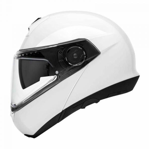 Schuberth C4 Basic Helmet - Glossy White colour, London