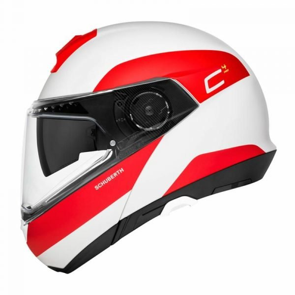 Schuberth C4 Pro Helmet - Fragment Red colour