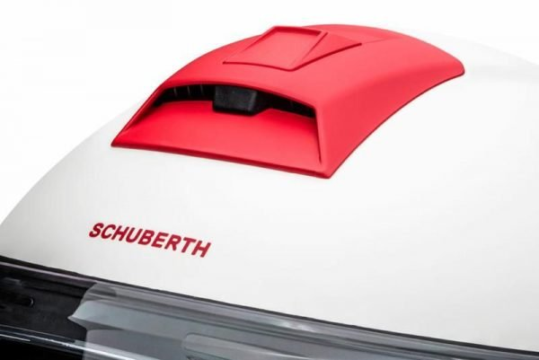 Schuberth C4 Pro Helmet - Fragment Red colour - Motorbike Clothing Store