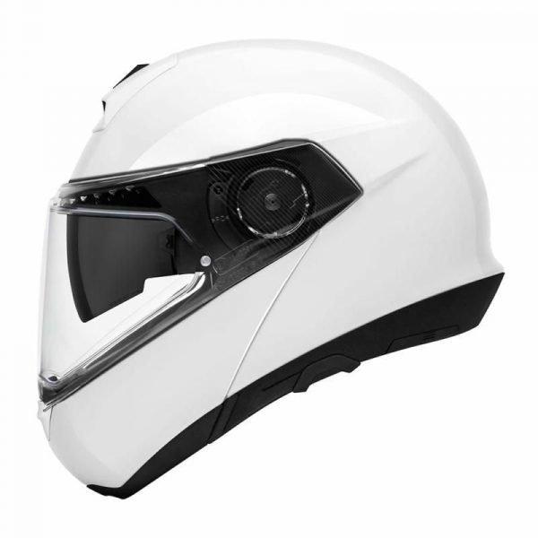 Schuberth C4 Pro Helmet - Glossy White colour, London
