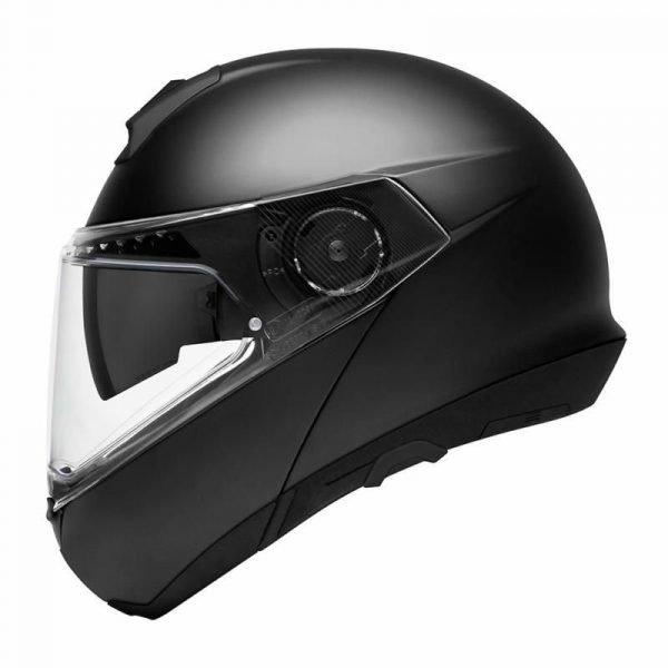 Schuberth C4 Pro Helmet - Matt Black colour, MCS, Chelsea