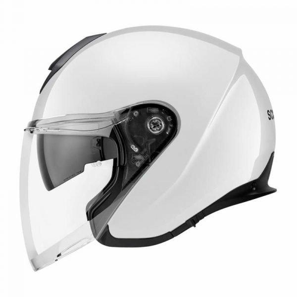 Schuberth M1 Pro Helmet - Glossy White, CMG Shop, London