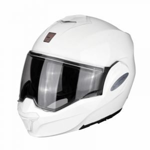 Scorpion Exo-Tech UK Helmet - Gloss White colour