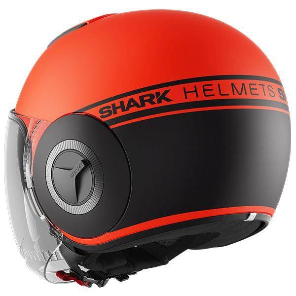 Shark Nano Neon Helmet - Matt Orange colour, Chelsea, London