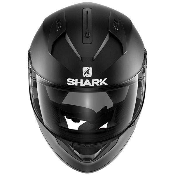 Shark Ridill Helmet - Blank Matt Black colour, MCS, Chelsea
