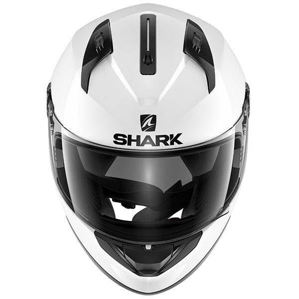 Shark Ridill Helmet - Blank White colour, CMG