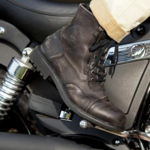 Falco Aviator Boots Dark Brown