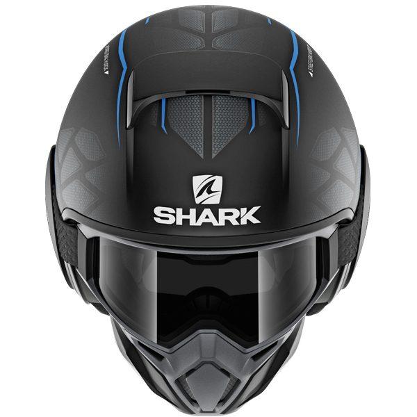 Shark Street Drak Hurok Mat KBK Matt Black/Blue
