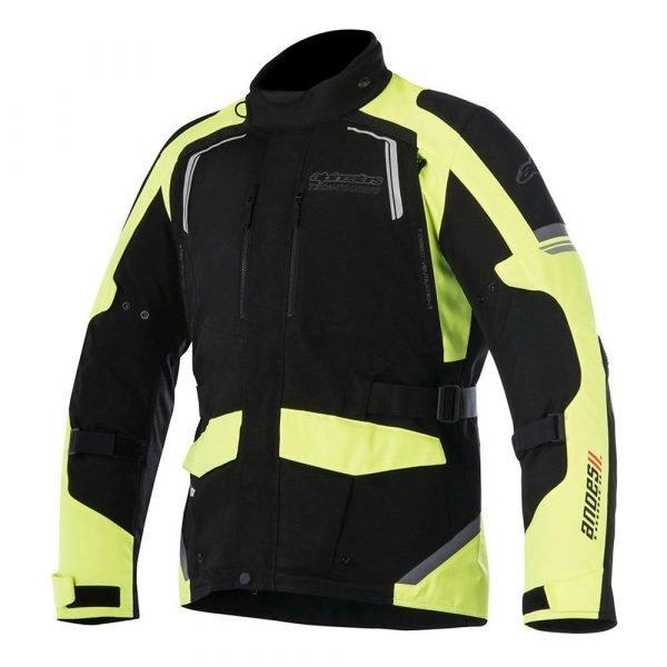 ALPINESTARS Andes V2 Drystar Jacket Black/Yellow Fluo