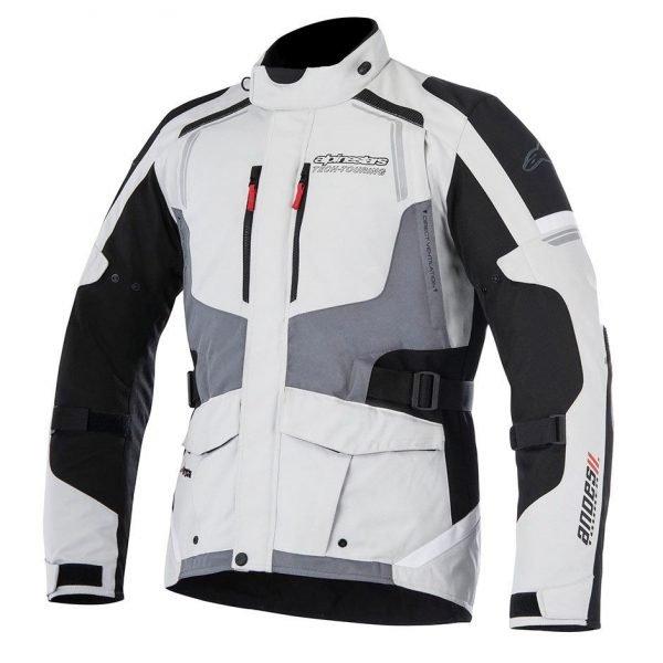 ALPINESTARS Andes V2 Drystar Jacket Light Grey/Black/Dark Grey