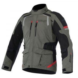 ALPINESTARS Andes V2 Drystar Jacket Military Green/Black/Red