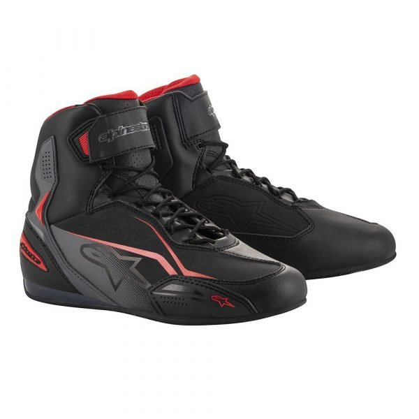 ALPINESTARS Faster-3 Shoes Black/Grey/Red