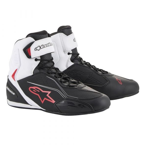 ALPINESTARS Faster-3 Shoes Black/White/Red