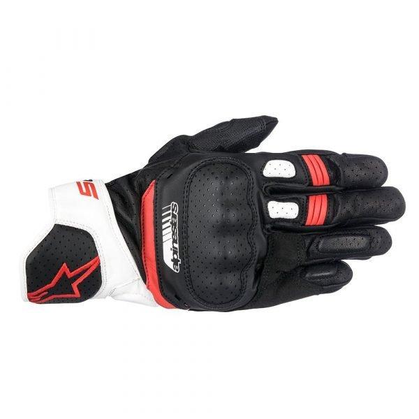 ALPINESTARS SP-5 Gloves Black/White/Red