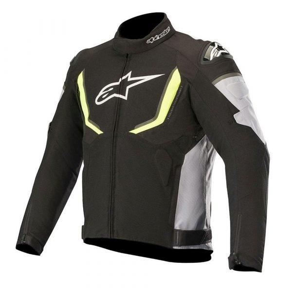 ALPINESTARS T-GP R V2 Waterproof Jacket Black/Grey/Yellow Fluo