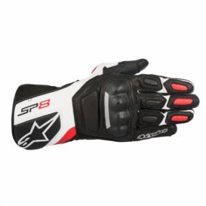 Alpinestars SP-8 v2 Gloves Black White & Red