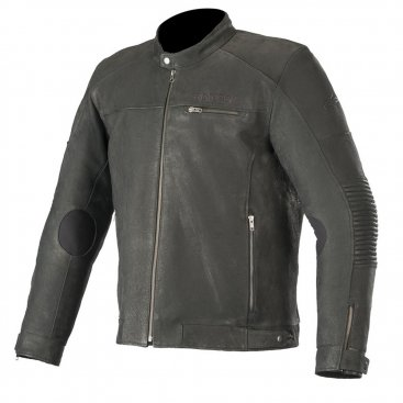 Alpinestars Warhorse Leather Jacket Black