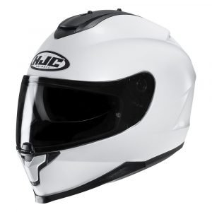 HJC C70 Plain White