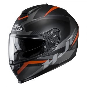 HJC C70 Troky Orange