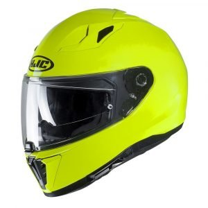 HJC I70 Plain Fluo Yellow
