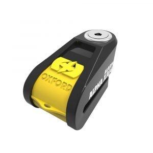OXFORD Alpha XA14 Alarm Disc Lock(14mm pin) Black/Yellow Yellow/Black