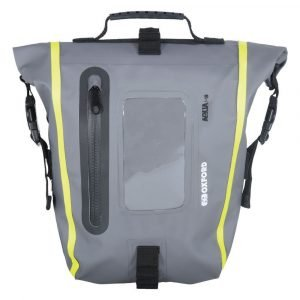 OXFORD Aqua M8 Tank Bag Black/Grey/Fluo