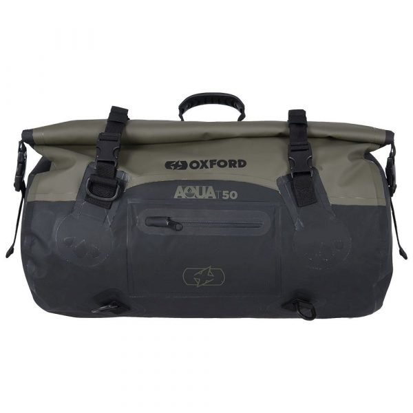 OXFORD Aqua T-50 Roll Bag Khaki/Black