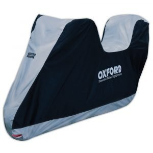 OXFORD Aquatex Cover with Top Box Black/Silver
