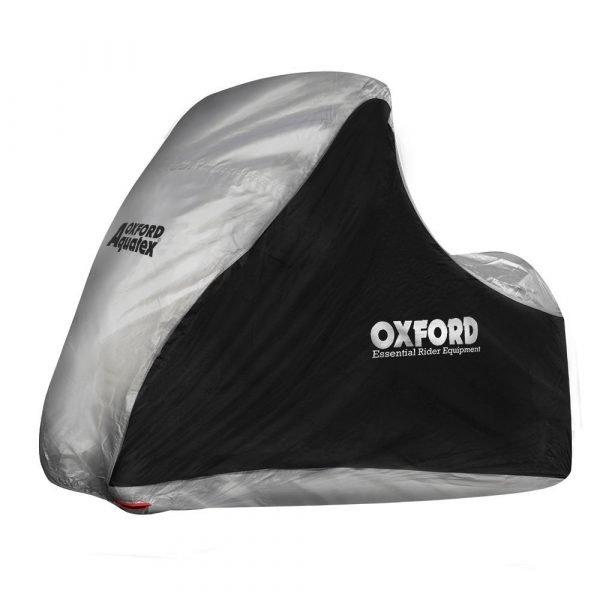 OXFORD Aquatex MP3/3 Wheeler Cover Black/Silver