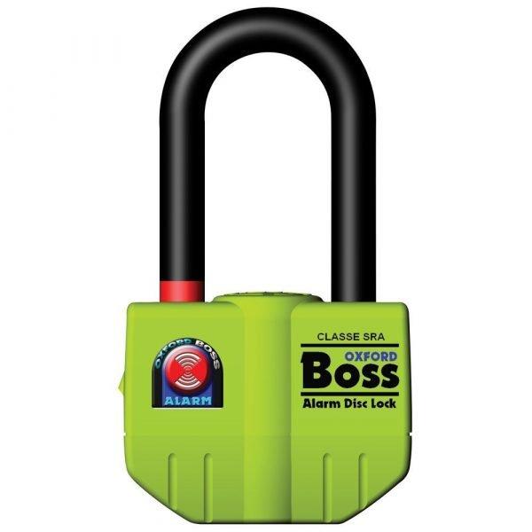 OXFORD Boss Alarm disc lock- 14mm Yellow Fluo Yellow