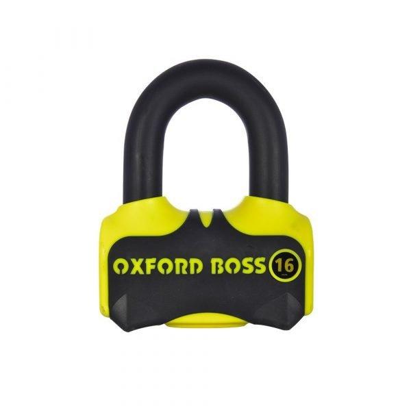 OXFORD Boss16 Lock Fluo Yellow