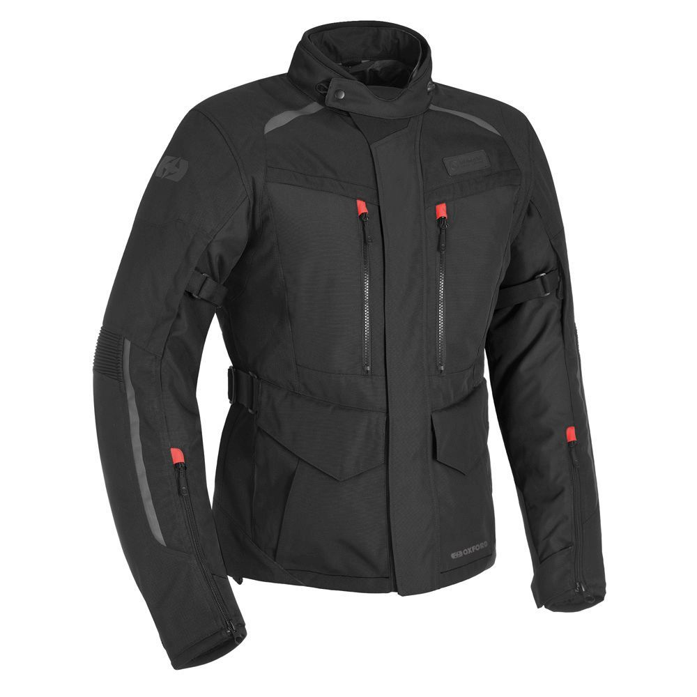OXFORD Continental Jacket Black