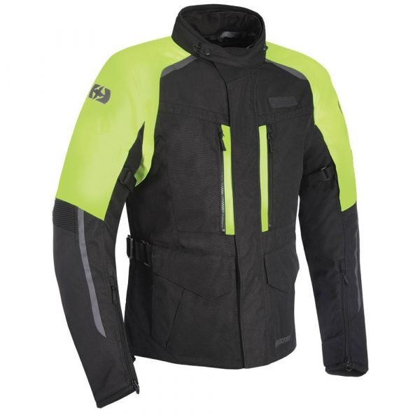 OXFORD Continental Jacket Black/Fluo Yellow