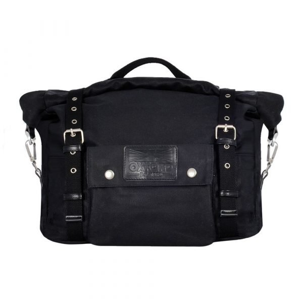 OXFORD Heritage Panniers Black