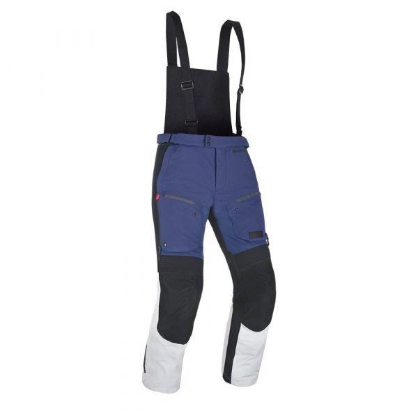 OXFORD Mondial Pants Grey/Blue/Red