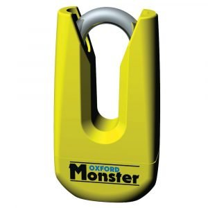 OXFORD Monster Disc Lock Yellow Fluo Yellow