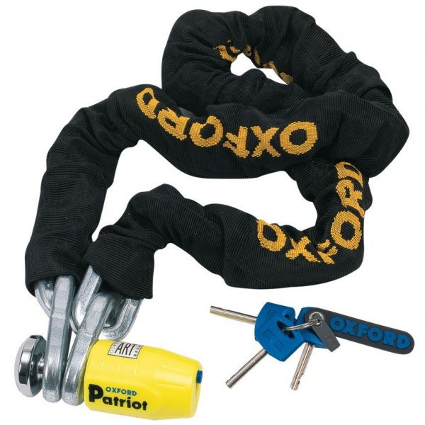OXFORD Patriot 12mm Chainlock- 2.0mtr Black