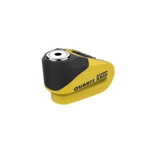 OXFORD Quartz XA10 Alarm Disc Lock(10mm pin) Yellow/Black Yellow/Black