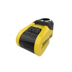 OXFORD Quartz XA6 Alarm Disc Lock(6mm pin) Yellow/Black Yellow/Black